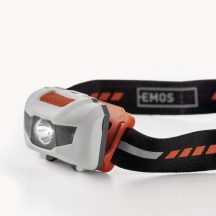Emos fejlámpa 1W fehér LED+2 piros LED