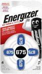 Energizer ZA675 hallókészülék elem bl/4