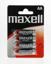 1,5V Maxell féltartós ceruza AA (R6) elem bl/4
