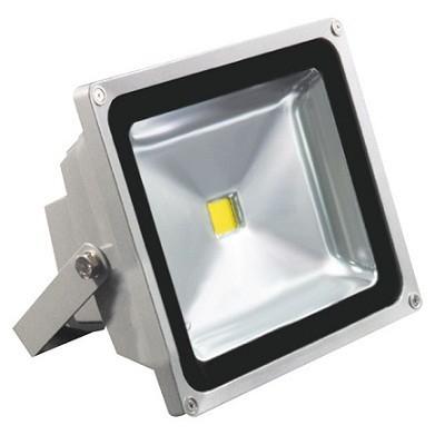 50W BC LED fényvető 230V melegfehér BCLux