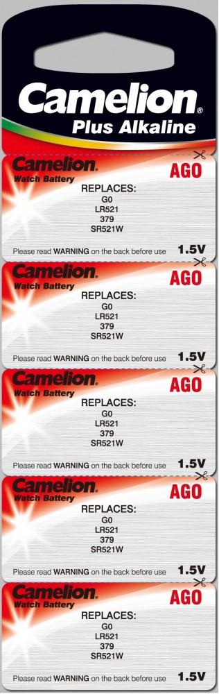 1,5V Camelion AG0(179,LR521) alkáli gombelem bl/10