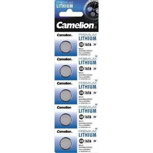 3V-os Camelion CR1616 lithium gombelem bl/5