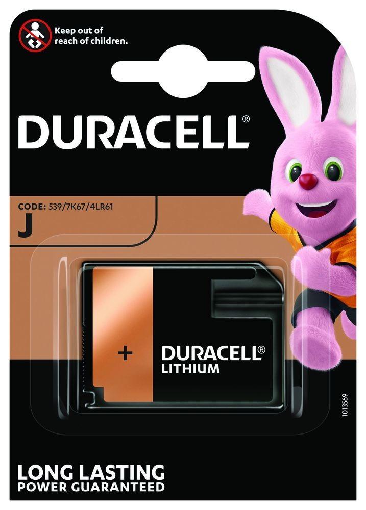 Duracell J 6V-os alkáli elem(4LR61) bl/1