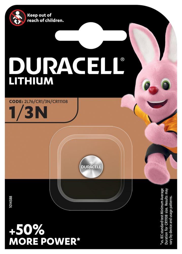 Duracell 1/3N 3V-os lithium elem bl/1