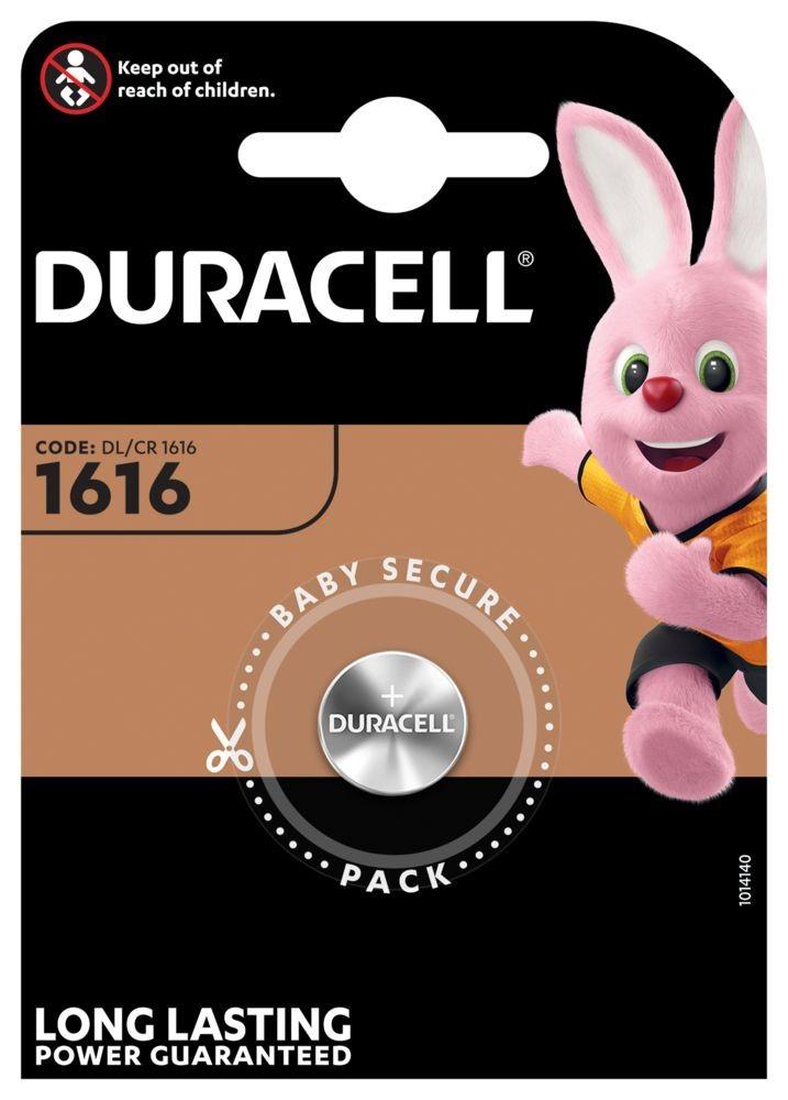 Duracell CR1616 lithium gombelem bliszteres/1