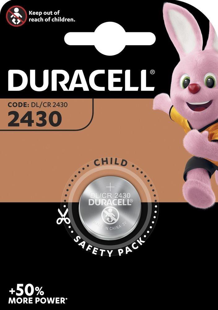 Duracell CR2430 lithium gombelem bliszteres/1