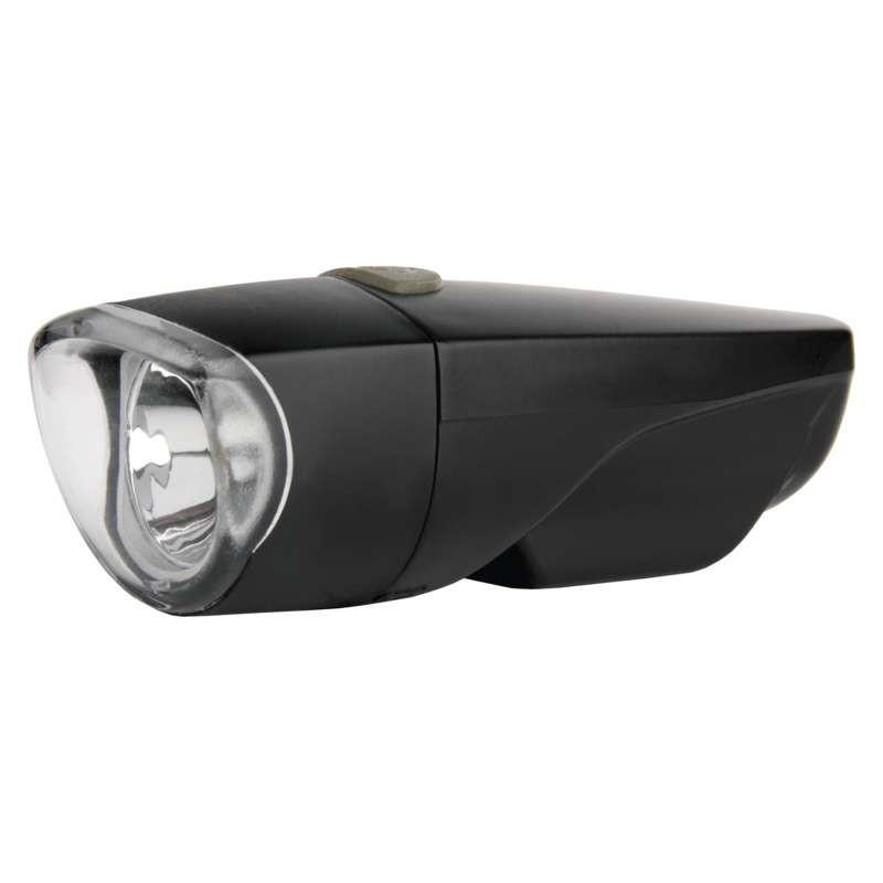 EMOS kerékpár lámpa első 1W-os leddel,fekete 3xAAA
