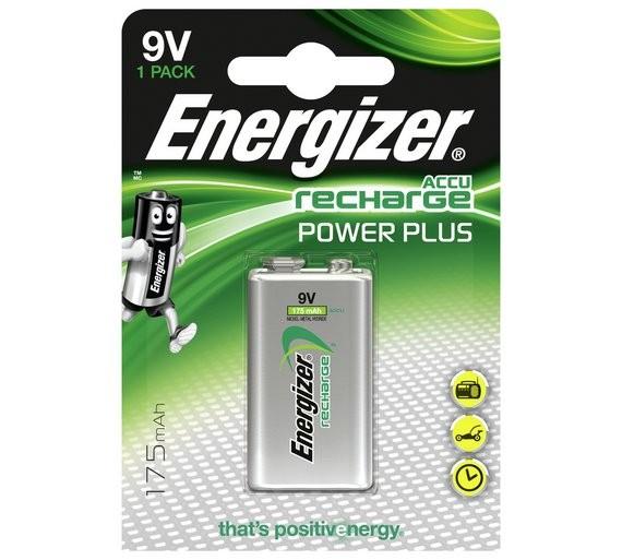 Energizer 9V-os NI-Mh akkumulátor (HR22) 175 mAh bl/1