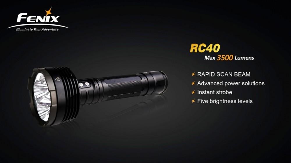 Fenix RC40 elemlámpa LED 3500 lumen