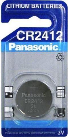 3V Panasonic lithium elem CR2412 3V