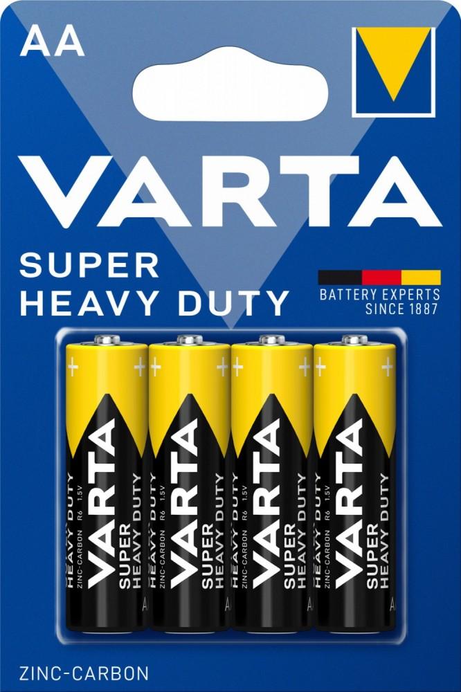 Varta Superlife AA féltartós ceruza elem (R6) bl/4