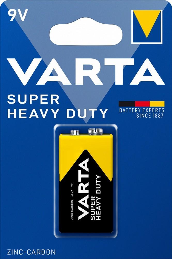 Varta Superlife 9V-os féltartós elem (6F22) bl/1