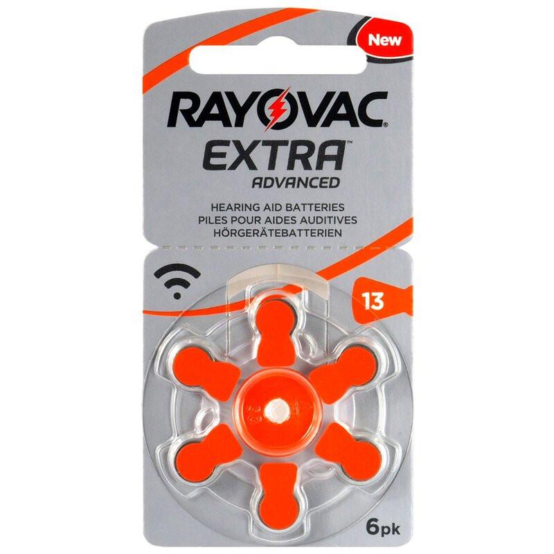 Varta Rayovac13-as hallókészülék elem (PR48)bl/6