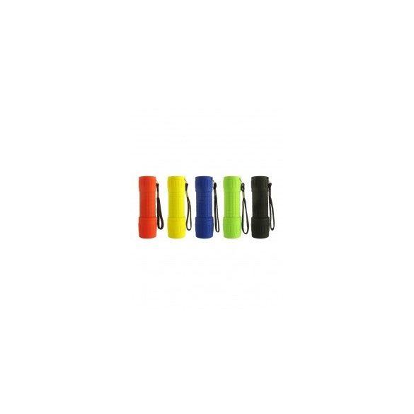 BCLux BC TR 341 3W COB ledes műanyag elemlámpa színes 3XAAA