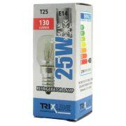 Trixline hűtő izzó T25 230V E14-es foglalat 25W 130 lumen