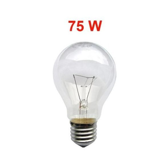 Trixline 230V/75W hagyományos izzó E27 menettel