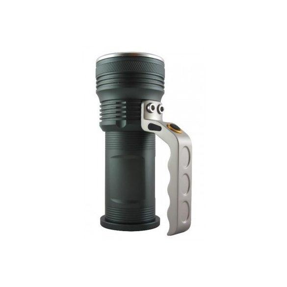 BCLux Trixline TR-A213 10W-os akkus LEDlámpa CREE T6 LED+ 2 db 18650 Li-ion akku