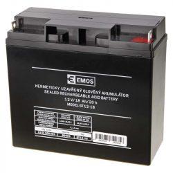 Zárt savas akkumulátor 12V/18Ah 181x76x167mm