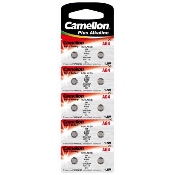 Camelion AG4(LR66,177,LR626) alkáli gombelem 1,5V 0% HG bl/10