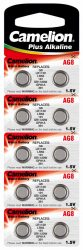 Camelion AG8(191,LR55,LR1120) alkáli gombelem 1,5V bl/10