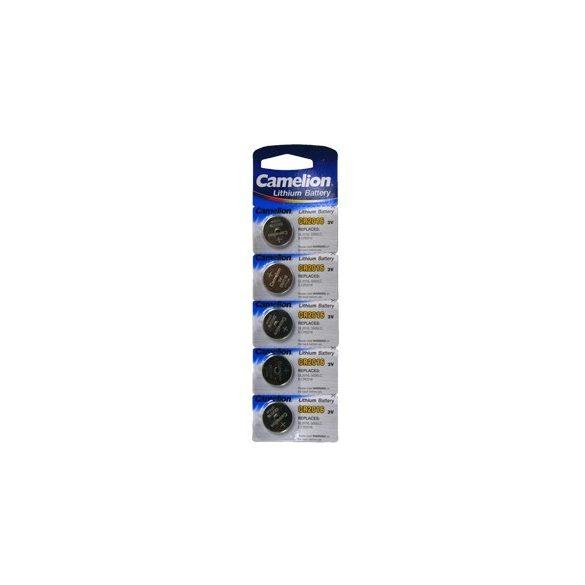 Camelion CR2016 3V-os lithium gombelem bl/5