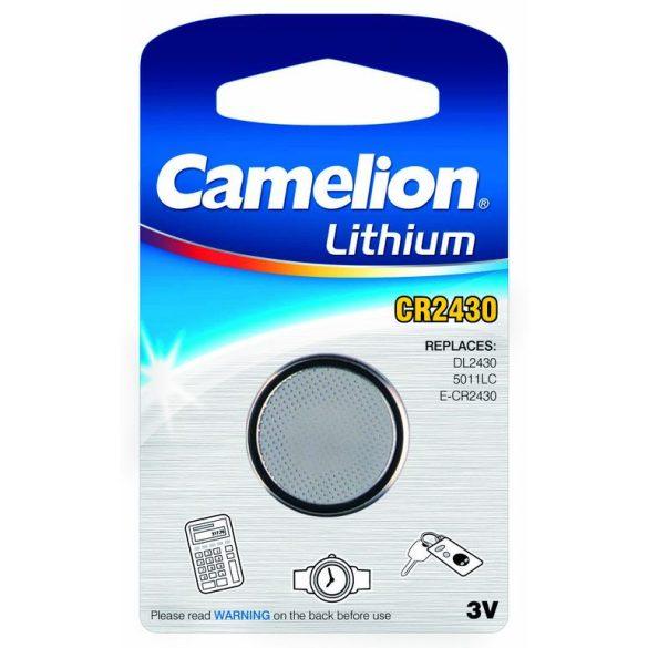 Camelion CR2430 3V-os lithium gombelem bl/1