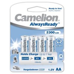Camelion Always Ready NI-Mh akku AA (HR6) 2300 mAh bl/4