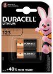 Duracell CR123 3V-os lithium elem (CR17345) bl/2