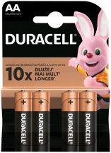 Duracell Basic  AA  MN1500 LR6 ceruza elem BL/4