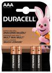 Duracell Basic AAA MN2400 LR03 mikró elem BL/4