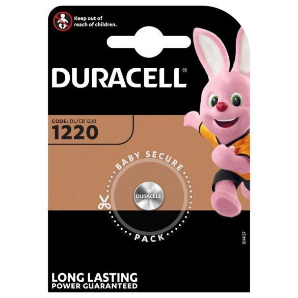 Duracell CR1220 lithium gombelem bliszteres/1
