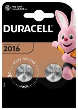 Duracell CR2016 lithium gombelem bliszteres/2