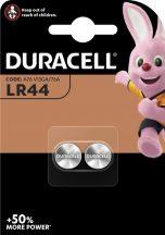 Duracell LR44 1,5V-os alkáli gombelem bl/2