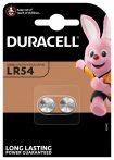 Duracell LR54 1,5V-os alkáli gombelem bl/2