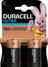 Duracell Ultra POWER MX1400,C,LR14 baby alkáli elem BL/2