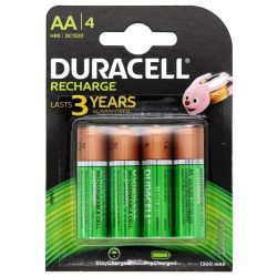 Duracell Stay Charged NI-Mh akku AA (HR6) 1300 mAh bl/4