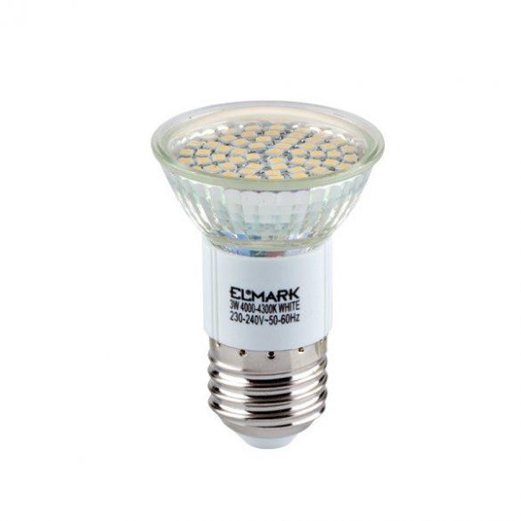 ELMARK LED60SMD 3W E27 2700K 250 lumen