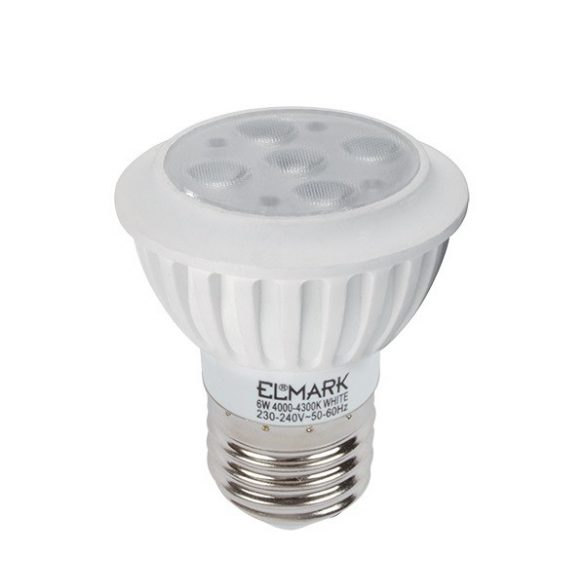 ELMARK LED7  High Power PAR16 6W E27 2700K 480 lumen