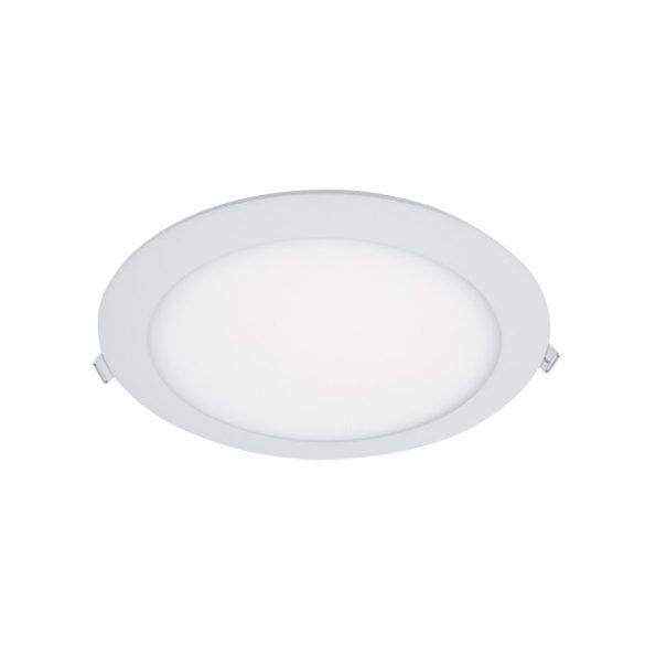 ELMARK süllyesztett kerek LED panel szabályozható 21W IP40 4000K, 1680lm, D225mm