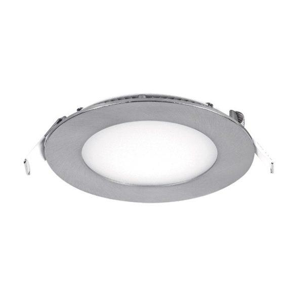 ELMARK süllyesztett kerek LED panel 8W IP40 2700K, 640lm, D120mm