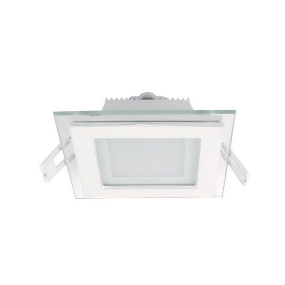 ELMARK süllyesztett üveg LED panel 6W IP40 4000K, 480lm, 97x97mm
