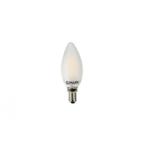 ELMARK LED FILAMENT Candle C35 4W E14 360° 2700K (400 lumen)