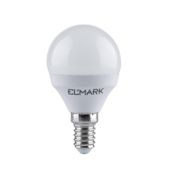 ELMARK LED GLOBE 6W E14 6400K P45 540 lumen