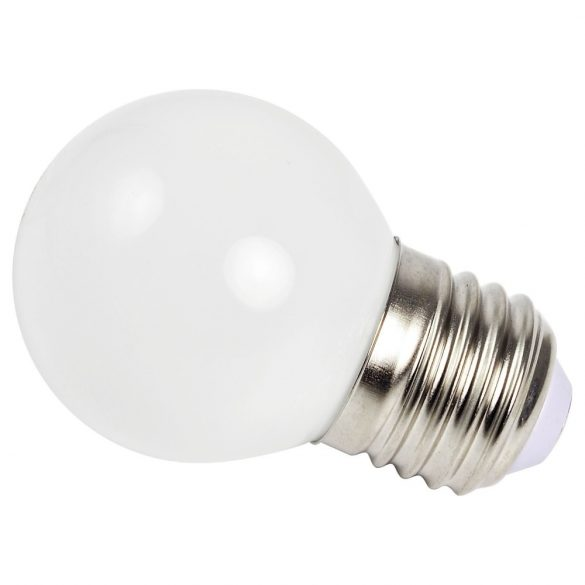 ELMARK LED GLOBE (gömb) G60 E27 3W WHITE (fehér)