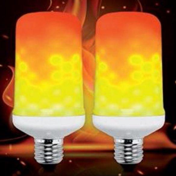 ELMARK  FLAME tűzlángot imitáló LED 1,5-5W E27 1500K 200lumen