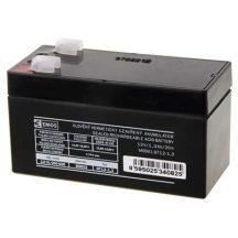 Zárt savas akkumulátor 12V/1,3Ah/20h 97x45x53mm