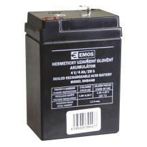 Zárt savas akkumulátor 4V/4Ah 70x 47x101mm ólom akku P2306-hoz