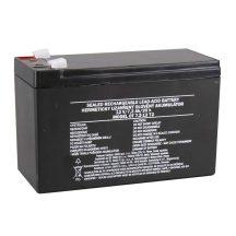 Zárt savas akkumulátor 12V/7,2Ah 151x65x95mm Faston:6,3