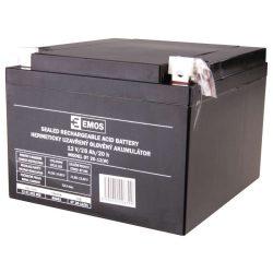 EMOS 12V/26Ah zárt,savas ólomakkumulátor 175x165x125mm B9683