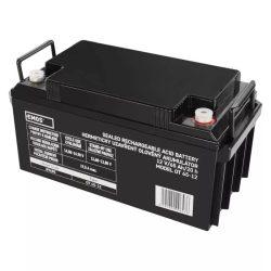 EMOS 12V/65Ah zárt,savas ólomakkumulátor 350x166x175mm B9685